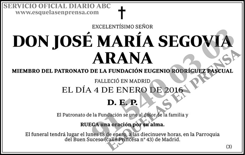 José María Segovia Arana